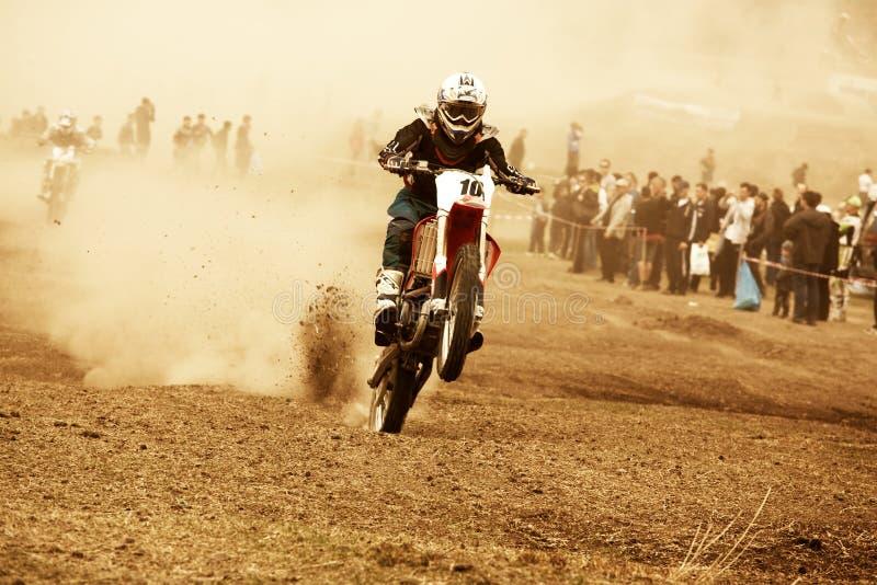 motocross royaltyfri bild