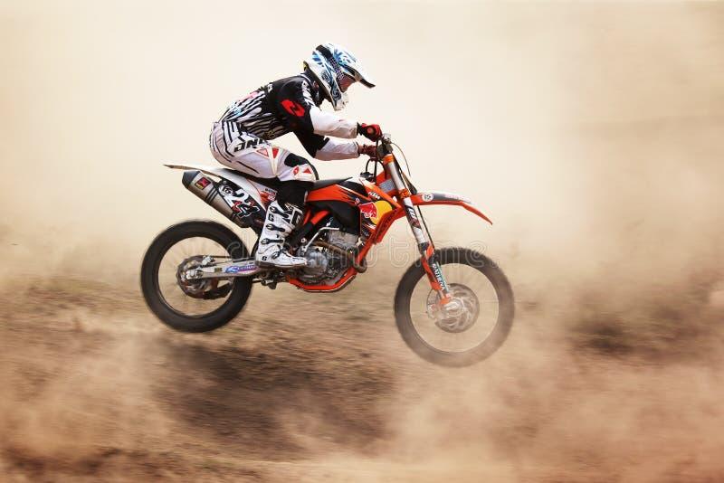 Motocross foto de stock