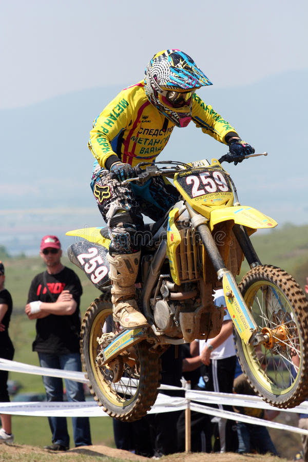 motocross 259 крайностей стоковое фото rf