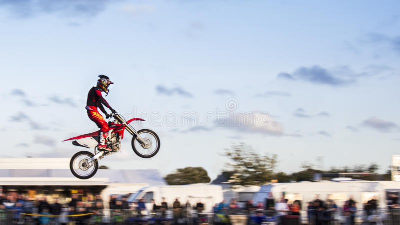 Motocross obraz stock