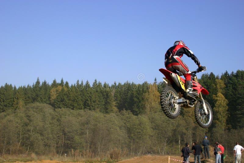 motocross royaltyfri fotografi
