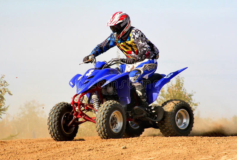 Motocross arkivfoton