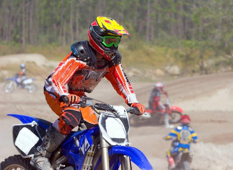 Motocross 4 stock photography