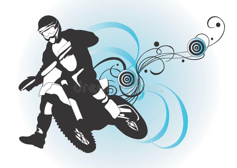 motocross ilustracja wektor