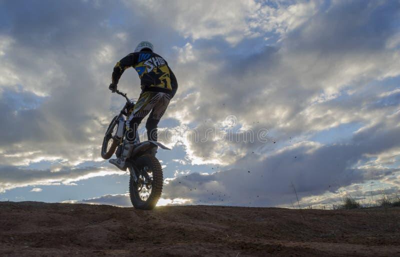 motocross stock afbeeldingen