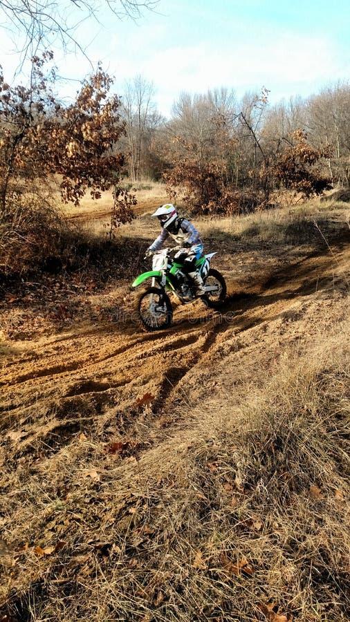 motocross royaltyfria foton