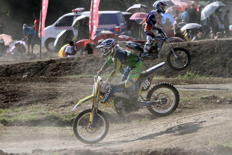 motocross lizenzfreies stockfoto