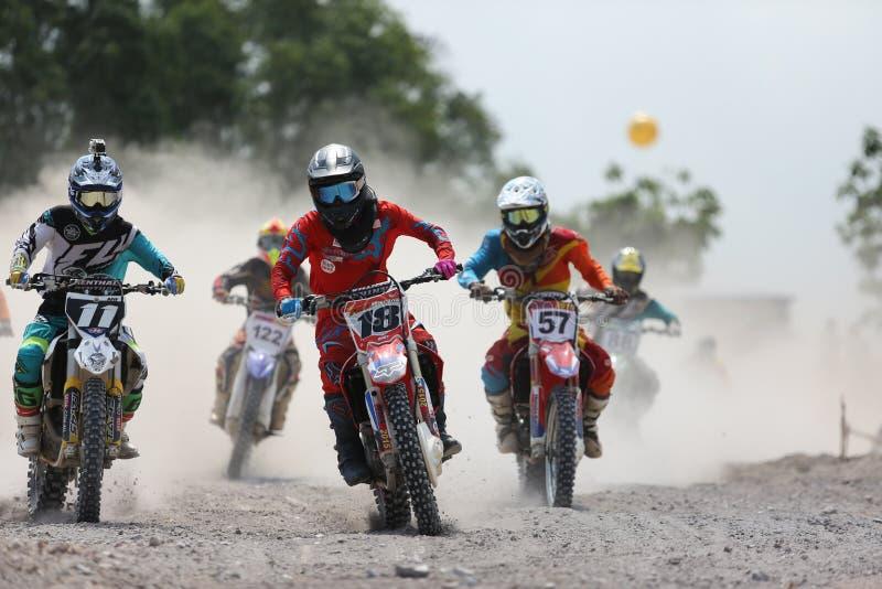 motocross стоковое изображение