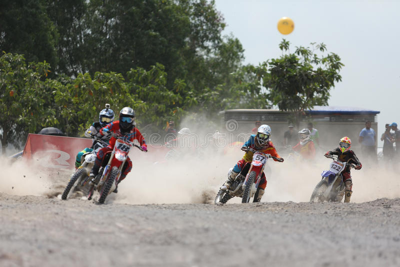 motocross стоковые фотографии rf