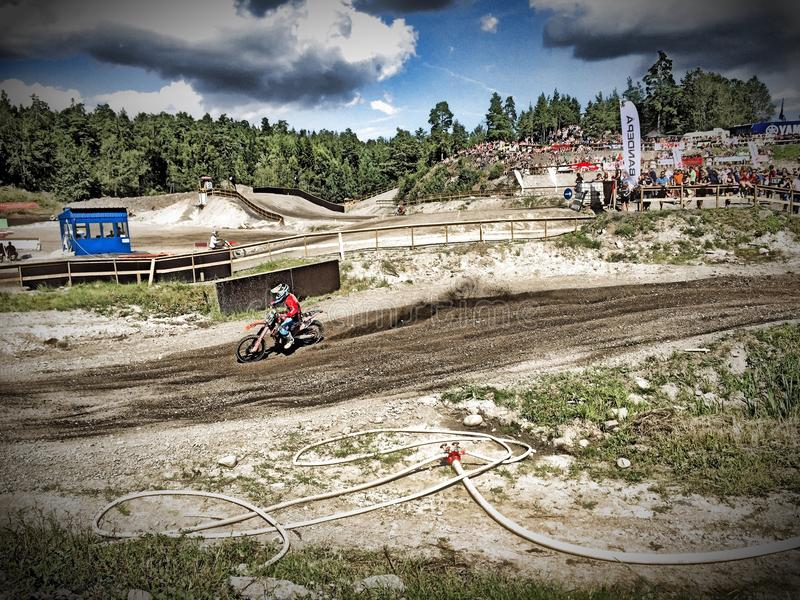 motocross photo stock