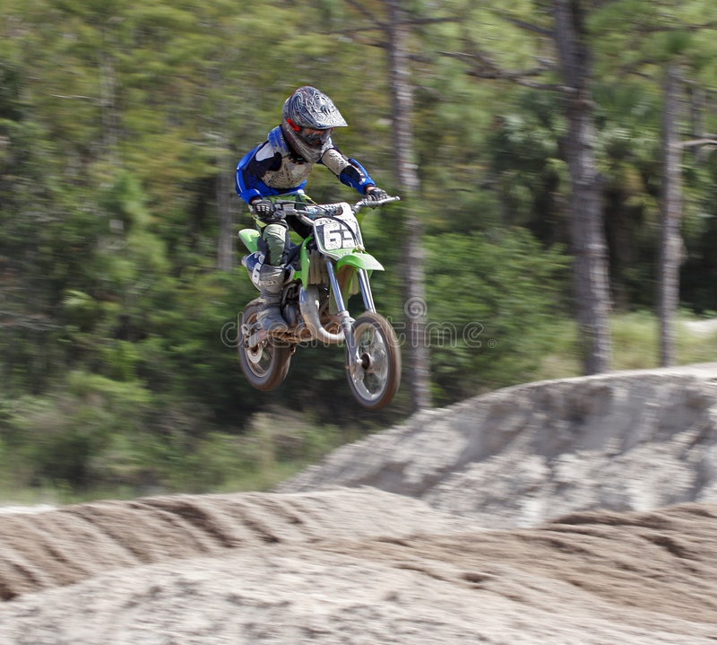 Download Motocross 7 stock image. Image of bikers, competition - 1414065