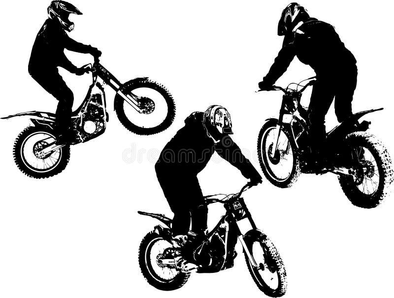 motocross stock illustrationer