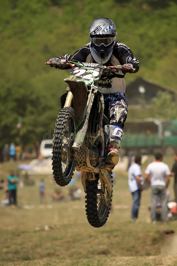 Motocross-branchez. photos stock