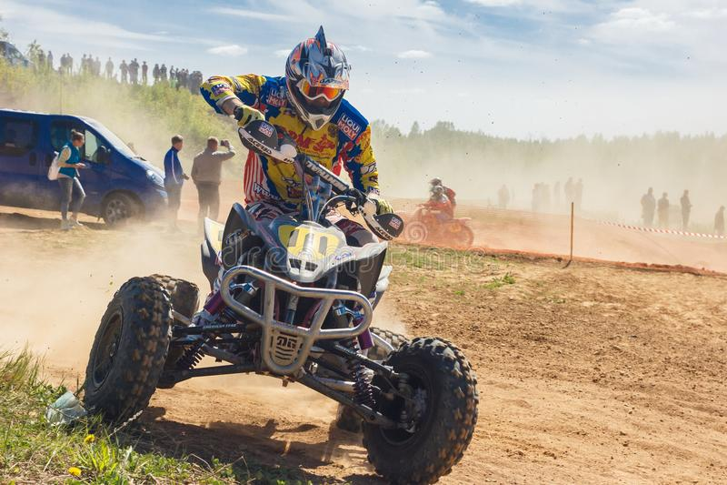 Motocross campionato 14-15 maggio 2016 immagini stock libere da diritti