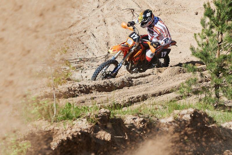 Motocross club workout royalty free stock photos