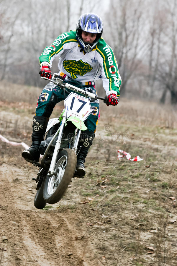 Motocross competition.