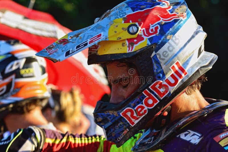 Motocross dans Sariego, Espagne photo stock