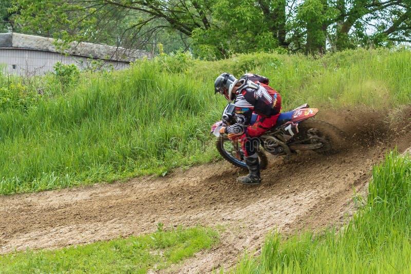 motocross E stockfoto