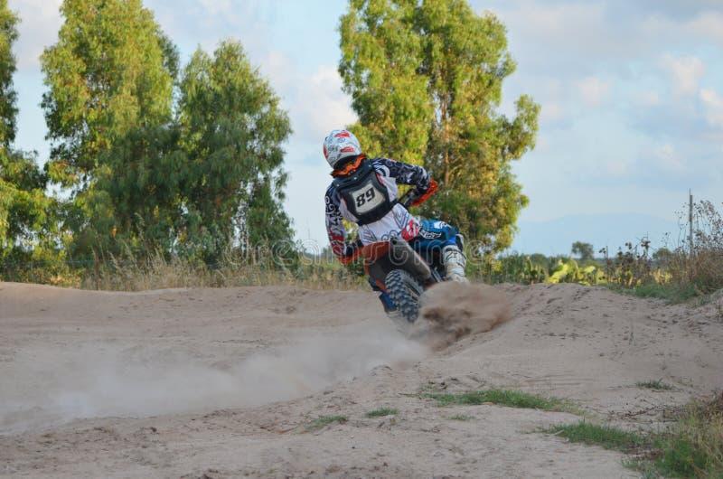 Motocross Italie Sardegna images stock