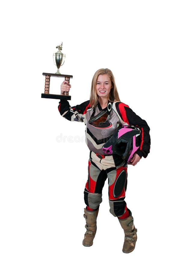 Download Motocross Motorcycle Girl stock photo. Image of racer - 37652618