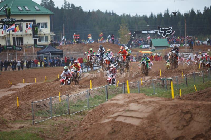 Motocross narody 2014 fotografia stock