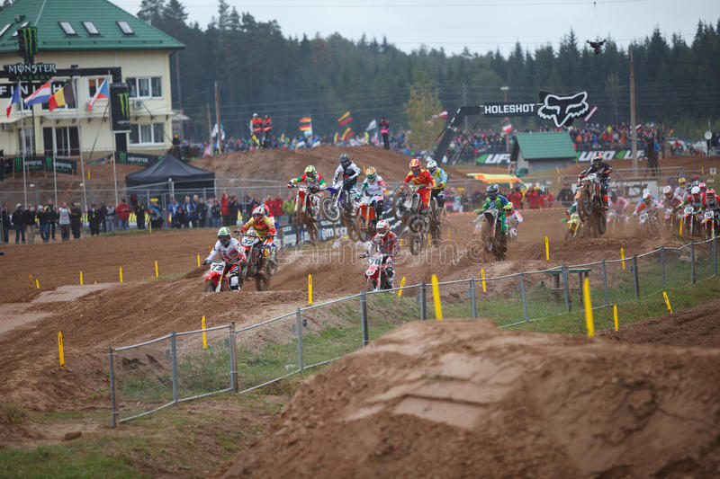 Motocross of Nations 2014 stock photography