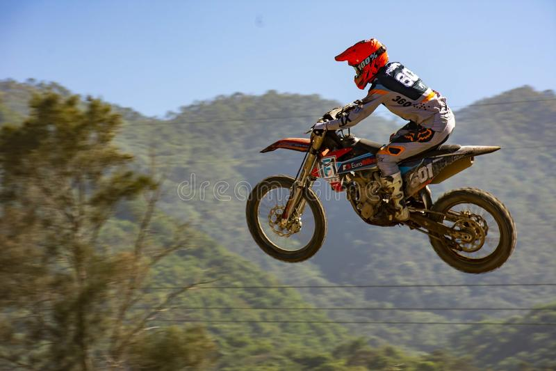 motocross image libre de droits