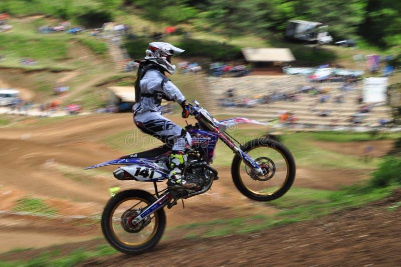 MOTOCROSS R1 ABERTO DO MX imagem de stock royalty free