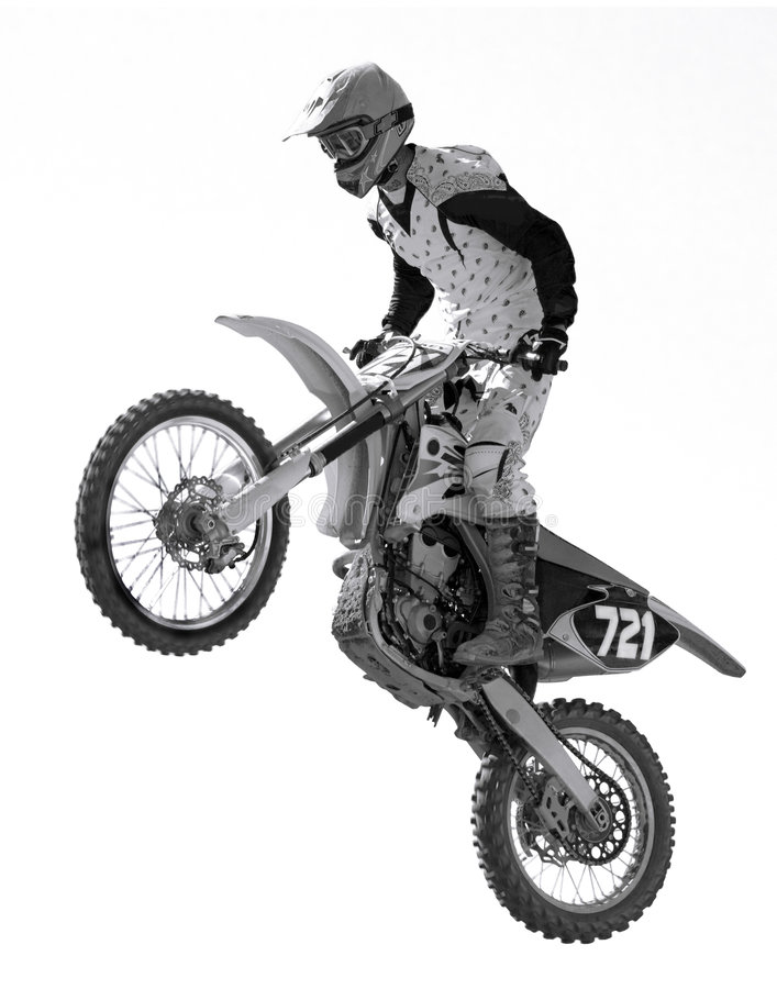 Download Motocross Racing stock image. Image of extreme, race, risk - 8264253
