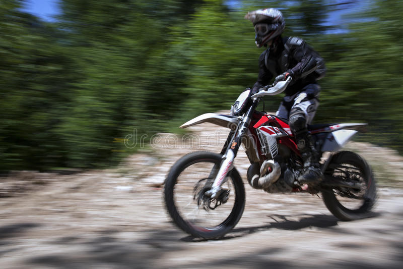 Motocross rasa obrazy stock