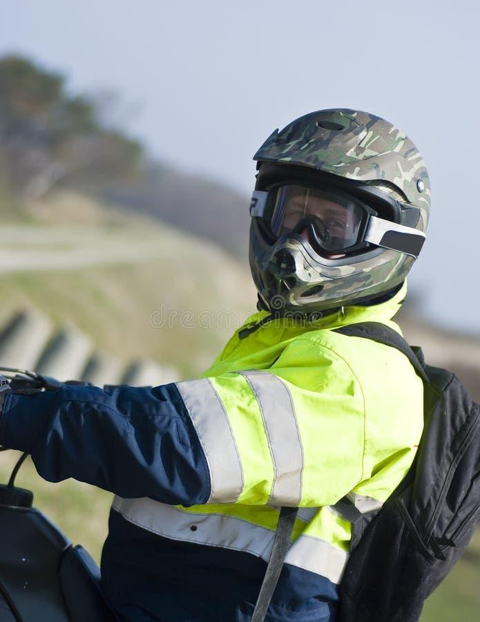 Motocross Rider Royalty Free Stock Photos