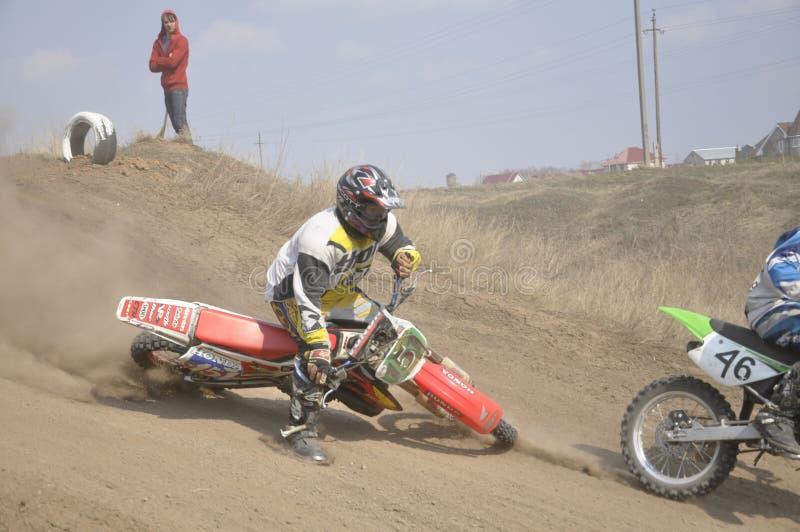 Download Motocross Rider Crash, Dusty Track Editorial Stock Image - Image: 18246704