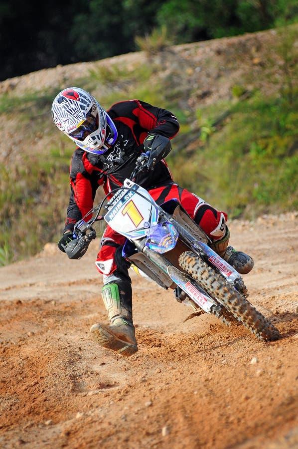 Motocross Taking Corners Editorial Stock Photo
