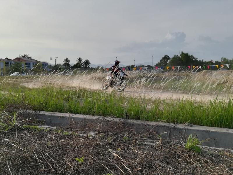 Motocross Track stock images