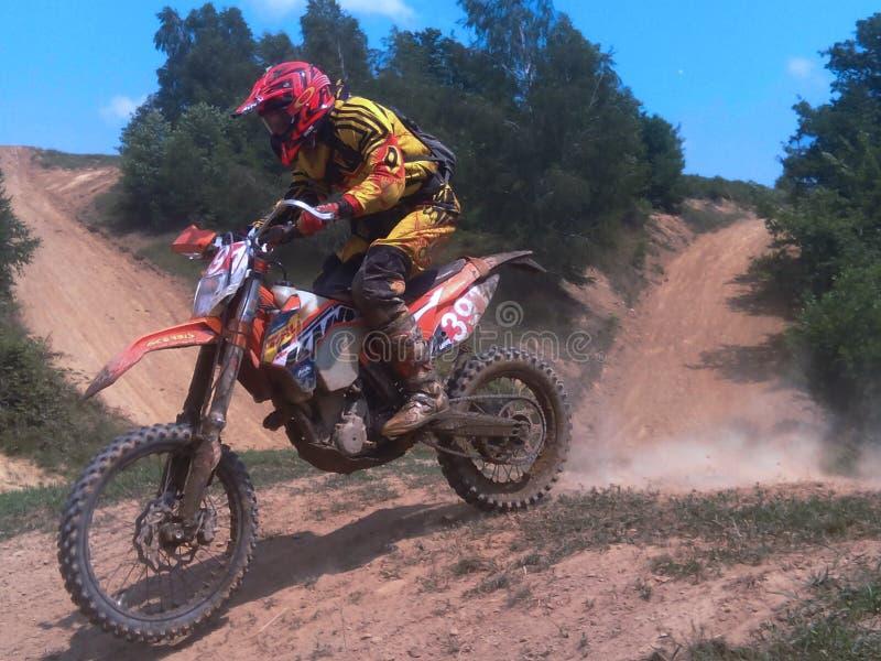 Motocross in Ukraine royalty free stock image