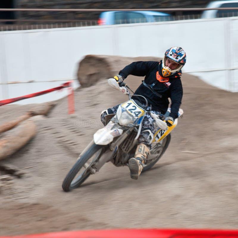 Motocross wystawa - genuy Uczciwa wiosna 2010 obrazy stock