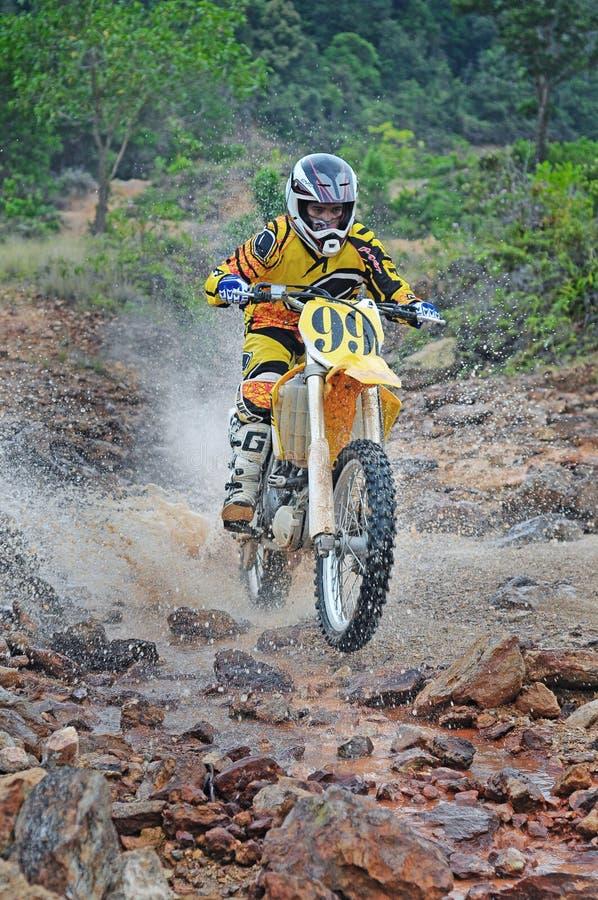 Motocrossduurzaamheid stock foto's
