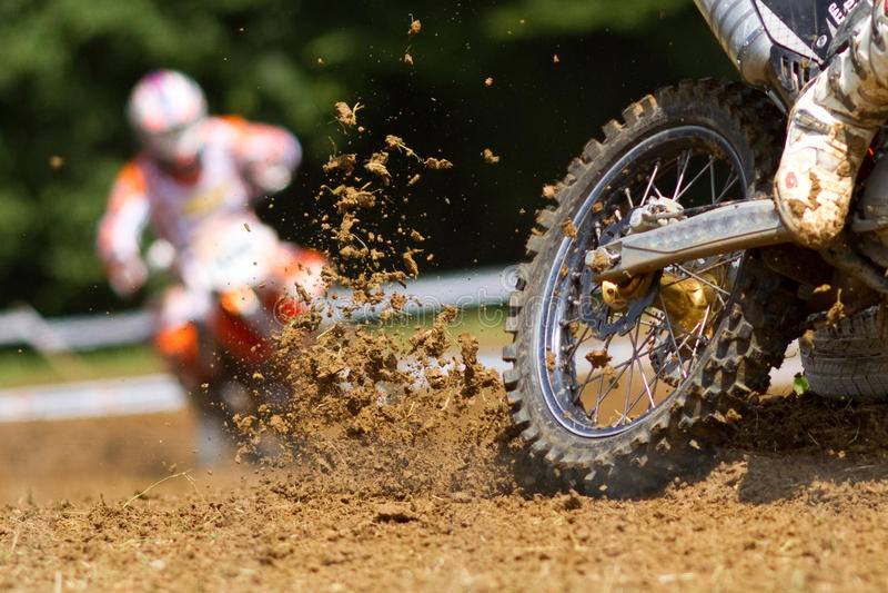 Motocrosser stock fotografie