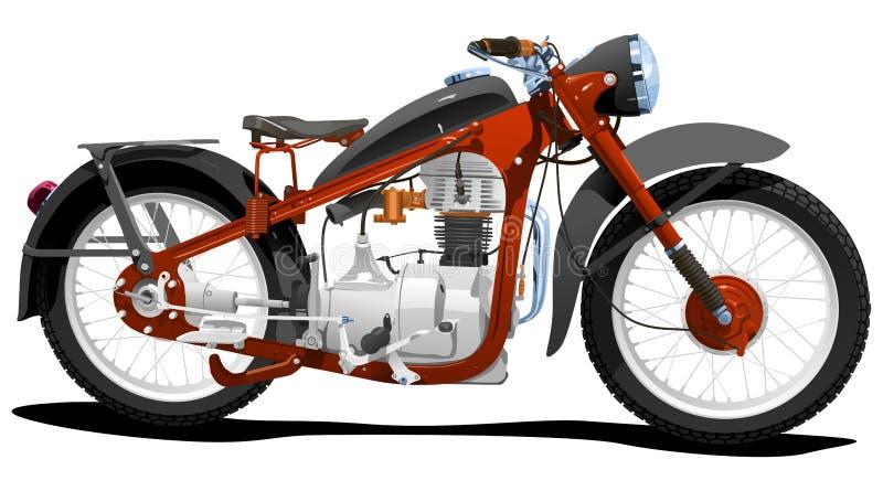 Motocycle illustration libre de droits
