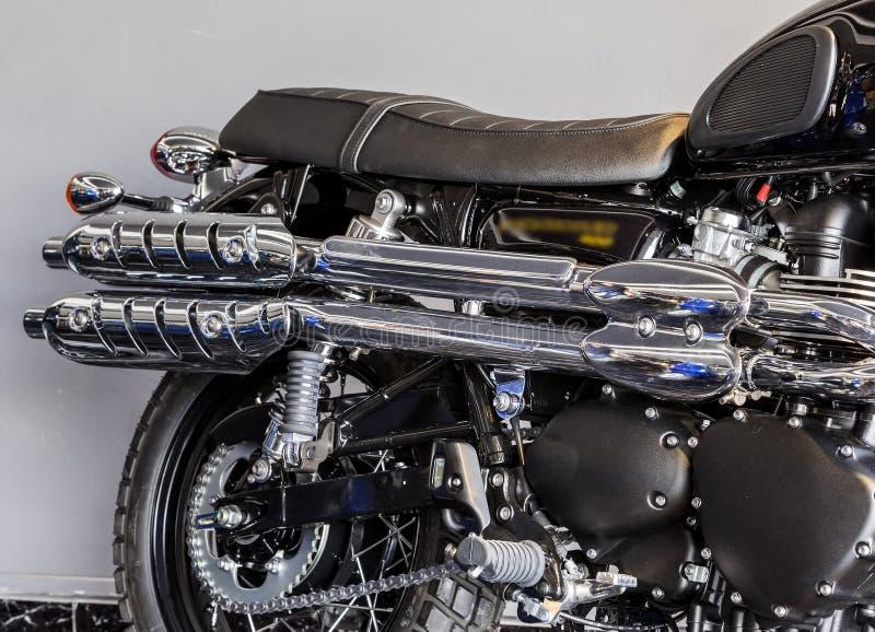 Motocycle clásico fotografía de archivo