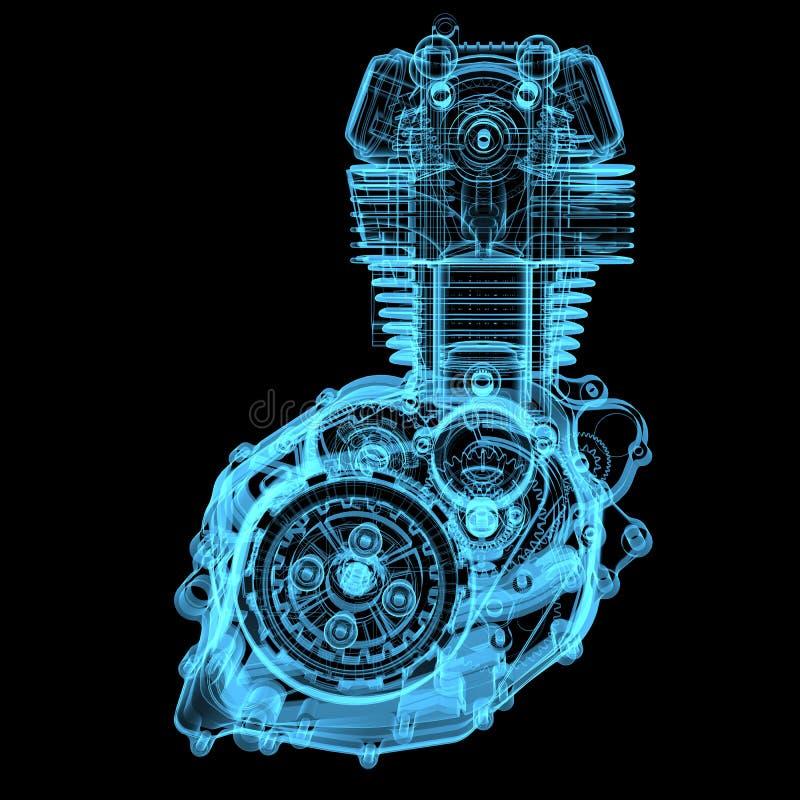 Free Motocycle Engine Royalty Free Stock Image - 29274076