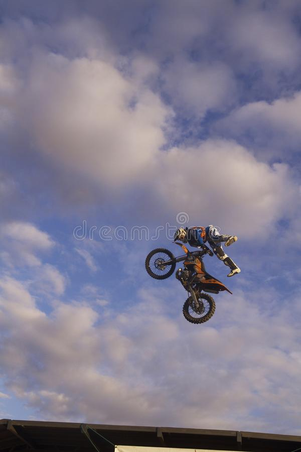 Download Motocycle Jump editorial photography. Image of cycle - 16669602