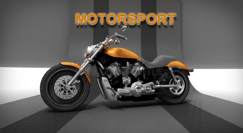 Motocyclette illustration libre de droits