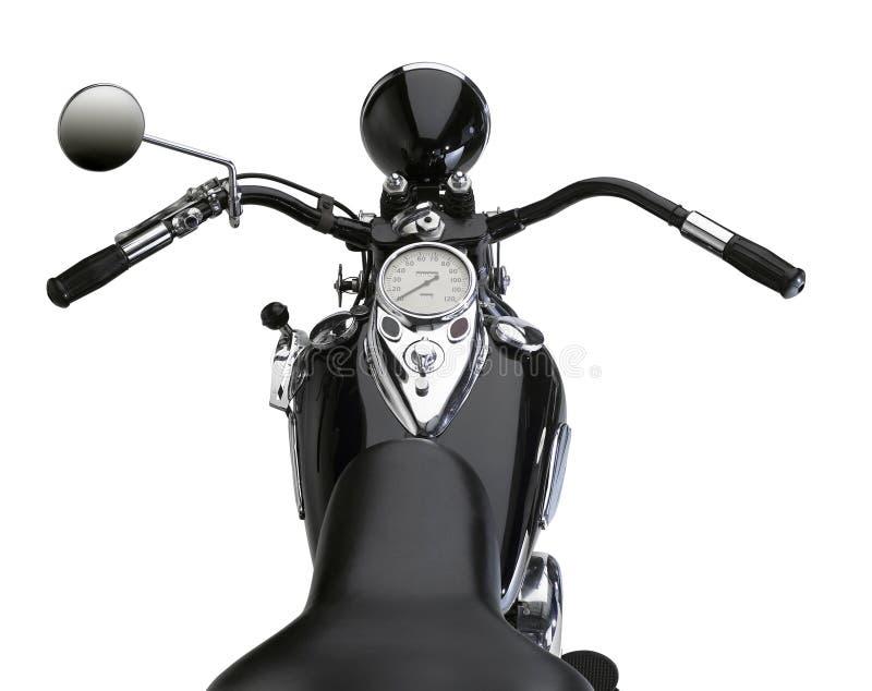 Motocyclette classique images libres de droits