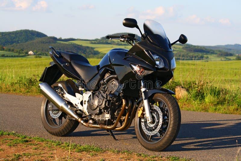Motocyclette de sport image libre de droits