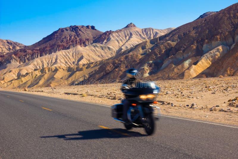 Motocycliste image libre de droits