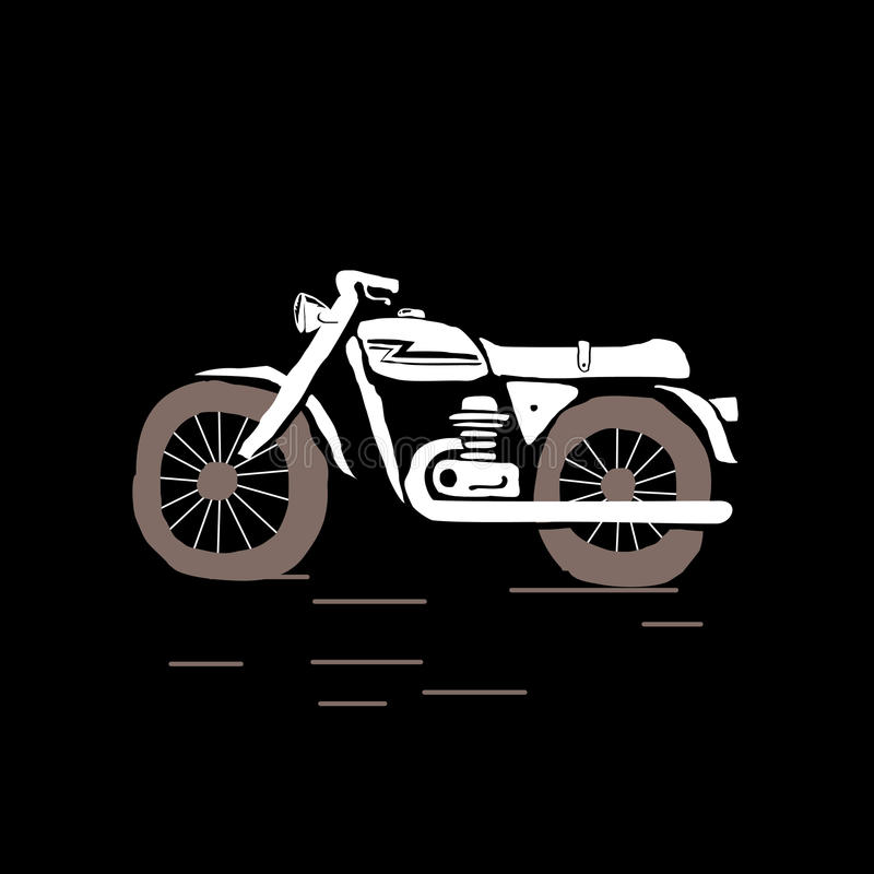 motocykl royalty ilustracja