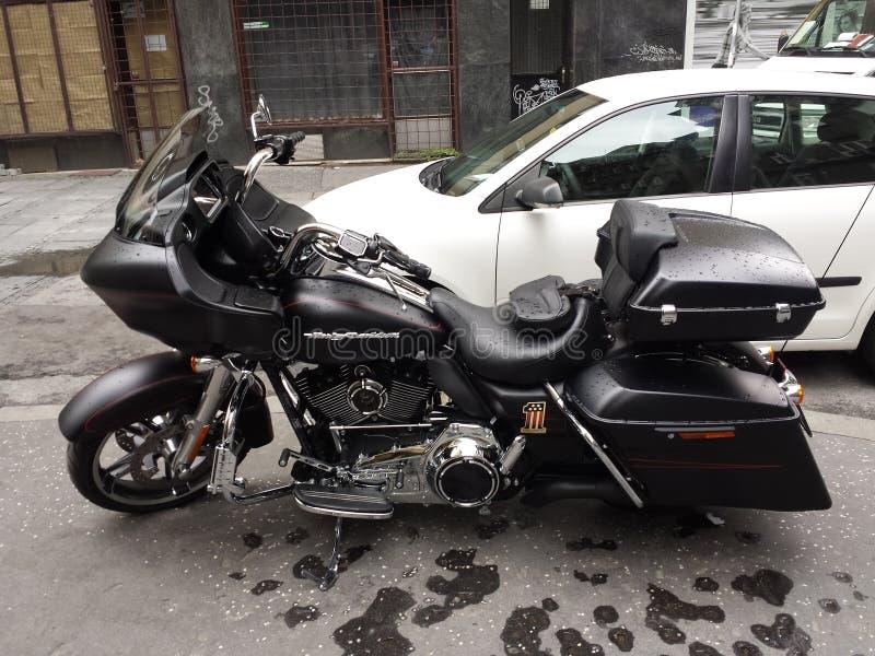 motocykl Harley Davidson obrazy royalty free