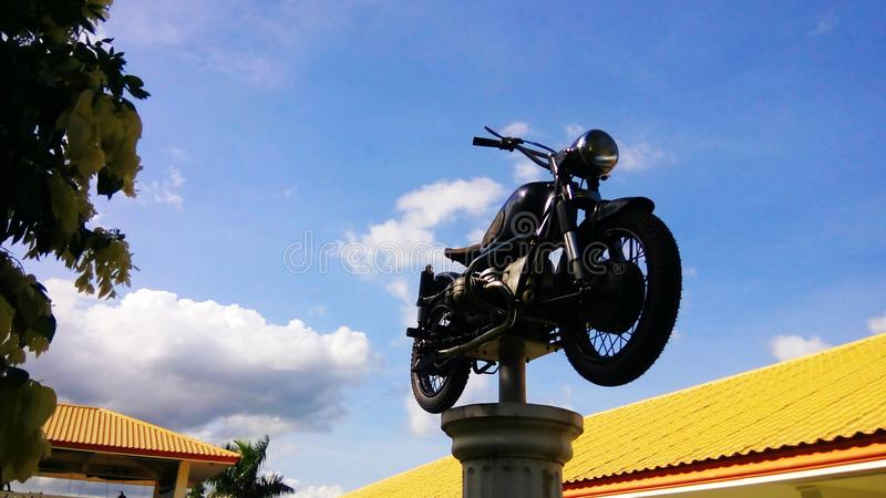 Motocykl Muzealna fotografia 01 zdjęcia stock