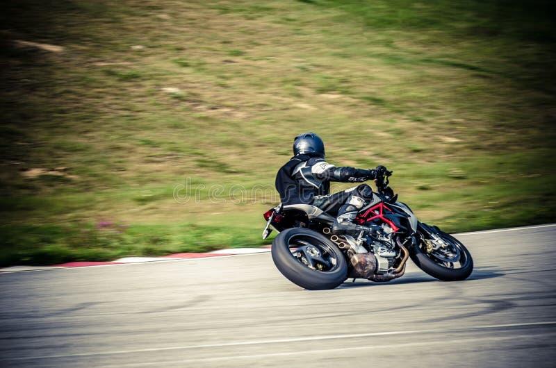 Motocykl rasa obraz royalty free